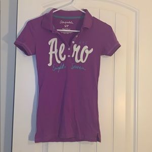 Aeropostale small purple shirt
